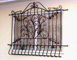 Кованые и сварные решетки и ставни на окна